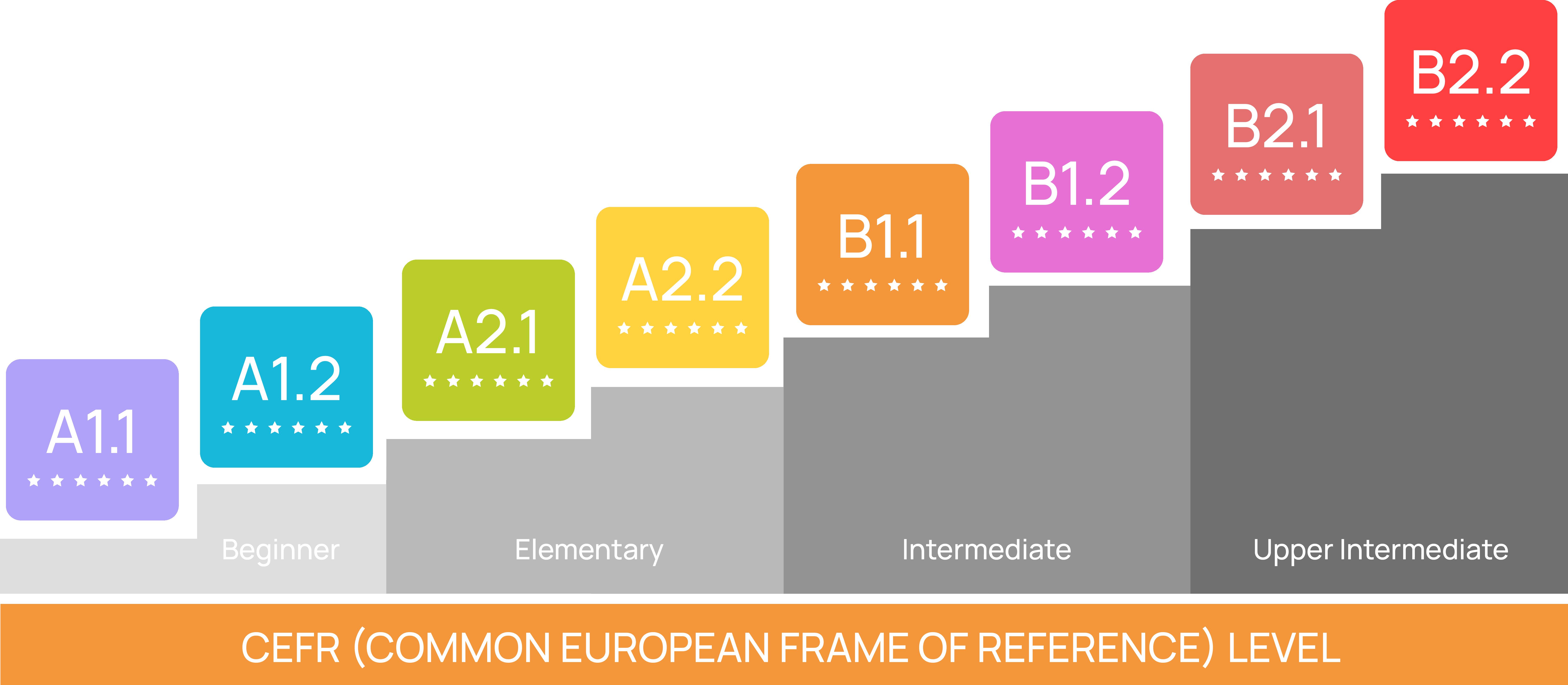 Tingkatan Level Kursus Bahasa Prancis General DELF (Age > 15)